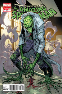 Cover Thumbnail for The Amazing Spider-Man (Marvel, 1999 series) #688 [Lizard Variant]
