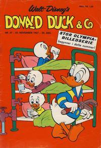 Cover Thumbnail for Donald Duck & Co (Hjemmet / Egmont, 1948 series) #47/1967