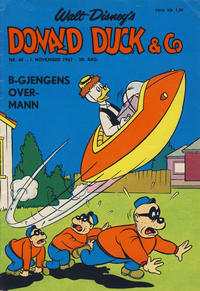 Cover Thumbnail for Donald Duck & Co (Hjemmet / Egmont, 1948 series) #44/1967