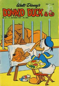 Cover Thumbnail for Donald Duck & Co (Hjemmet / Egmont, 1948 series) #41/1967