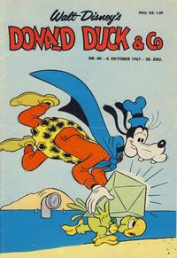 Cover Thumbnail for Donald Duck & Co (Hjemmet / Egmont, 1948 series) #40/1967