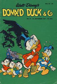 Cover Thumbnail for Donald Duck & Co (Hjemmet / Egmont, 1948 series) #39/1967