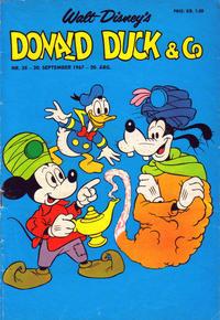 Cover Thumbnail for Donald Duck & Co (Hjemmet / Egmont, 1948 series) #38/1967