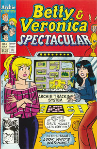 Cover Thumbnail for Betty and Veronica Spectacular (Archie, 1992 series) #9