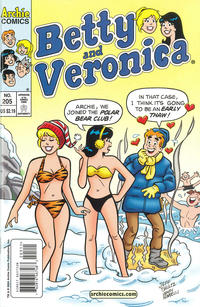 Cover Thumbnail for Betty and Veronica (Archie, 1987 series) #205