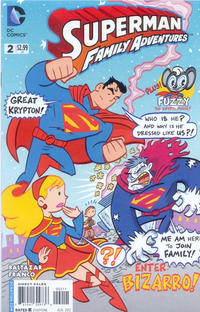 Cover Thumbnail for Superman Family Adventures (DC, 2012 series) #2 [Direct Sales]