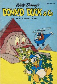 Cover Thumbnail for Donald Duck & Co (Hjemmet / Egmont, 1948 series) #30/1967