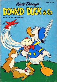 Cover Thumbnail for Donald Duck & Co (Hjemmet / Egmont, 1948 series) #29/1967