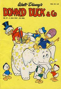 Cover Thumbnail for Donald Duck & Co (Hjemmet / Egmont, 1948 series) #27/1967