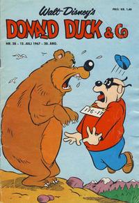 Cover Thumbnail for Donald Duck & Co (Hjemmet / Egmont, 1948 series) #28/1967