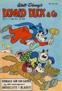 Cover Thumbnail for Donald Duck & Co (Hjemmet / Egmont, 1948 series) #23/1967