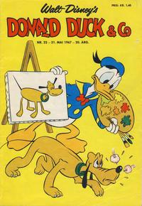 Cover Thumbnail for Donald Duck & Co (Hjemmet / Egmont, 1948 series) #22/1967