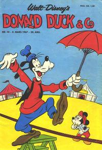 Cover Thumbnail for Donald Duck & Co (Hjemmet / Egmont, 1948 series) #10/1967