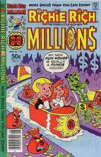 Cover Thumbnail for Richie Rich Millions (Harvey, 1961 series) #106