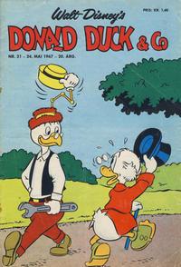 Cover Thumbnail for Donald Duck & Co (Hjemmet / Egmont, 1948 series) #21/1967