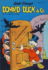 Cover Thumbnail for Donald Duck & Co (Hjemmet / Egmont, 1948 series) #19/1967
