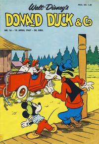 Cover Thumbnail for Donald Duck & Co (Hjemmet / Egmont, 1948 series) #16/1967