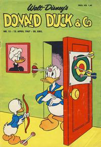 Cover Thumbnail for Donald Duck & Co (Hjemmet / Egmont, 1948 series) #15/1967
