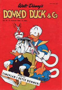 Cover Thumbnail for Donald Duck & Co (Hjemmet / Egmont, 1948 series) #34/1964