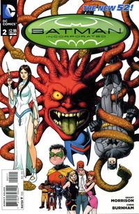 Cover Thumbnail for Batman Incorporated (DC, 2012 series) #2 [Chris Burnham Cover]