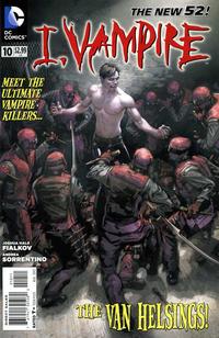 Cover Thumbnail for I, Vampire (DC, 2011 series) #10