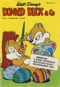 Cover Thumbnail for Donald Duck & Co (Hjemmet / Egmont, 1948 series) #12/1967
