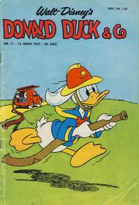 Cover Thumbnail for Donald Duck & Co (Hjemmet / Egmont, 1948 series) #11/1967