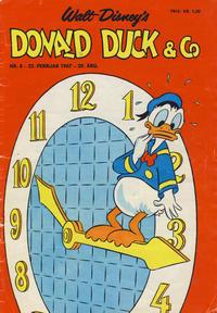 Cover Thumbnail for Donald Duck & Co (Hjemmet / Egmont, 1948 series) #8/1967