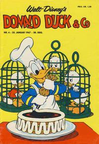 Cover Thumbnail for Donald Duck & Co (Hjemmet / Egmont, 1948 series) #4/1967