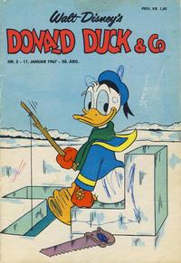 Cover Thumbnail for Donald Duck & Co (Hjemmet / Egmont, 1948 series) #2/1967