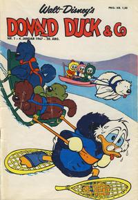 Cover Thumbnail for Donald Duck & Co (Hjemmet / Egmont, 1948 series) #1/1967