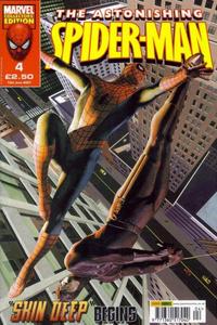 Cover Thumbnail for The Astonishing Spider-Man (Panini UK, 2007 series) #4