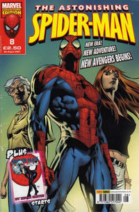 Cover Thumbnail for The Astonishing Spider-Man (Panini UK, 2007 series) #8
