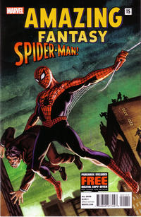 Cover for Amazing Fantasy #15: Spider-Man! (Marvel, 2012 series) #[nn]