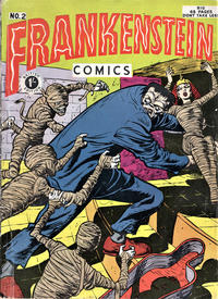 Cover Thumbnail for Frankenstein Comics (Arnold Book Company, 1953 series) #2
