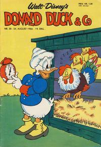 Cover Thumbnail for Donald Duck & Co (Hjemmet / Egmont, 1948 series) #35/1966