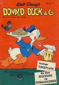 Cover Thumbnail for Donald Duck & Co (Hjemmet / Egmont, 1948 series) #34/1966