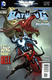 Cover Thumbnail for Batwing (DC, 2011 series) #11