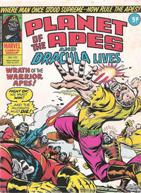Cover Thumbnail for Planet of the Apes (Marvel UK, 1974 series) #122