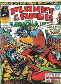 Cover Thumbnail for Planet of the Apes (Marvel UK, 1974 series) #116