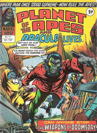 Cover Thumbnail for Planet of the Apes (Marvel UK, 1974 series) #111