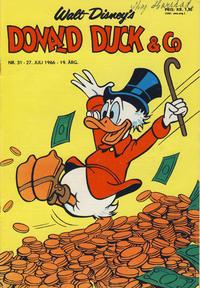 Cover Thumbnail for Donald Duck & Co (Hjemmet / Egmont, 1948 series) #31/1966