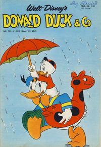 Cover Thumbnail for Donald Duck & Co (Hjemmet / Egmont, 1948 series) #28/1966