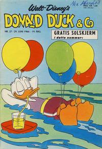 Cover Thumbnail for Donald Duck & Co (Hjemmet / Egmont, 1948 series) #27/1966