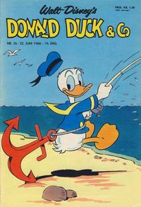 Cover Thumbnail for Donald Duck & Co (Hjemmet / Egmont, 1948 series) #26/1966
