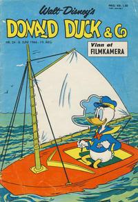 Cover Thumbnail for Donald Duck & Co (Hjemmet / Egmont, 1948 series) #24/1966