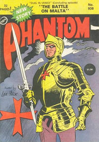Cover Thumbnail for The Phantom (Frew Publications, 1948 series) #938