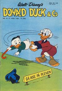 Cover Thumbnail for Donald Duck & Co (Hjemmet / Egmont, 1948 series) #18/1966