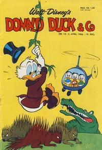 Cover Thumbnail for Donald Duck & Co (Hjemmet / Egmont, 1948 series) #15/1966