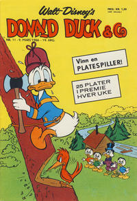 Cover Thumbnail for Donald Duck & Co (Hjemmet / Egmont, 1948 series) #11/1966